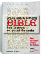 Cross Stitch Letters Bible