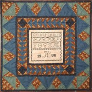 FC 1900 Sampler Quilt Blue edition