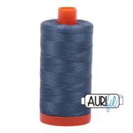Aurifil Mako 28 1310 Medium Blue Grey