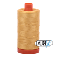 Aurifil Mako 28 2134 Spun Gold