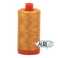 Aurifil Mako 28 2140 Orange Mustard