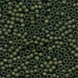 Antique Seed Beads Matte Olive