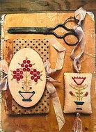 Mary's Garden Needle Book & Fob