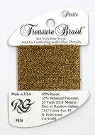 Petite Treasure Braid Antique Gold
