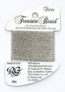 Petite Treasure Braid Antique Silver