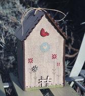 Mini Birdhouse Little Bird
