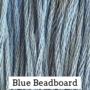 Blue Beadboard CCW