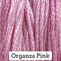 Organza Pink CCW