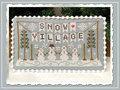 Snow Village Banner- CCN