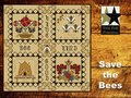 Save the Bees- Twin Peak Primitives