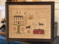 The Stables at Hollyberry Farm Sampler-Stacy Nash Primitive Designs