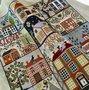 American Homes - Historische Stickmuster