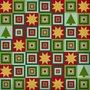 Sterne überm Weihnachtswald - Historische Stickmuster