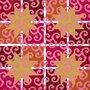 Sternennebel - Four Christmas stars - Historische Stickmuster