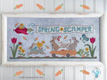 Spring Scamper - Luminous Fiber Arts