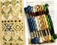 Set Perlé 5 voor Silk Sampler uit Frisian Whitework
