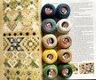 Set Perlé 8 voor Silk Sampler uit Frisian Whitework