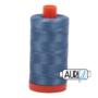 Aurifil Mako 28 1126 Blue Grey
