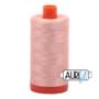 Aurifil Mako 28 2420 Fleshy Pink