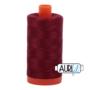 Aurifil Mako 28 2460 Dark Carmine Red