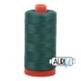 Aurifil Mako 28 4129 Turf Green