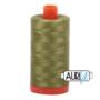 Aurifil Mako 28 5016 Olive Green