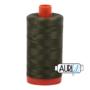 Aurifil Mako 28 5023 Medium Green